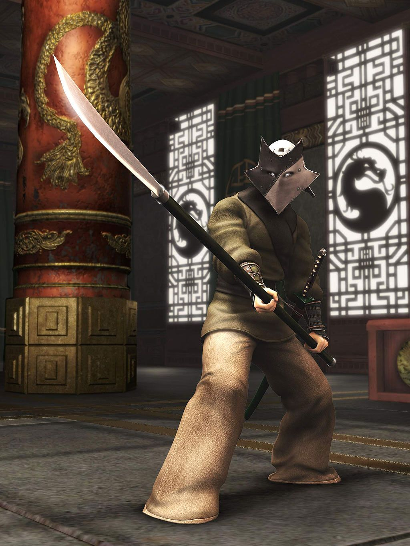 Masked Guard Shaolin Monks Mortal Kombat Shaolin Monks Shaolin Monks Mortal Kombat