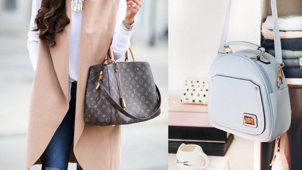 جدييييييد شنط يد و حقائب يد نسائية ماركات عالمية 2019 موديلات شنط يد نسائية Https Youtu Be Grbgakh69mk Fashion Backpack Leather Bags