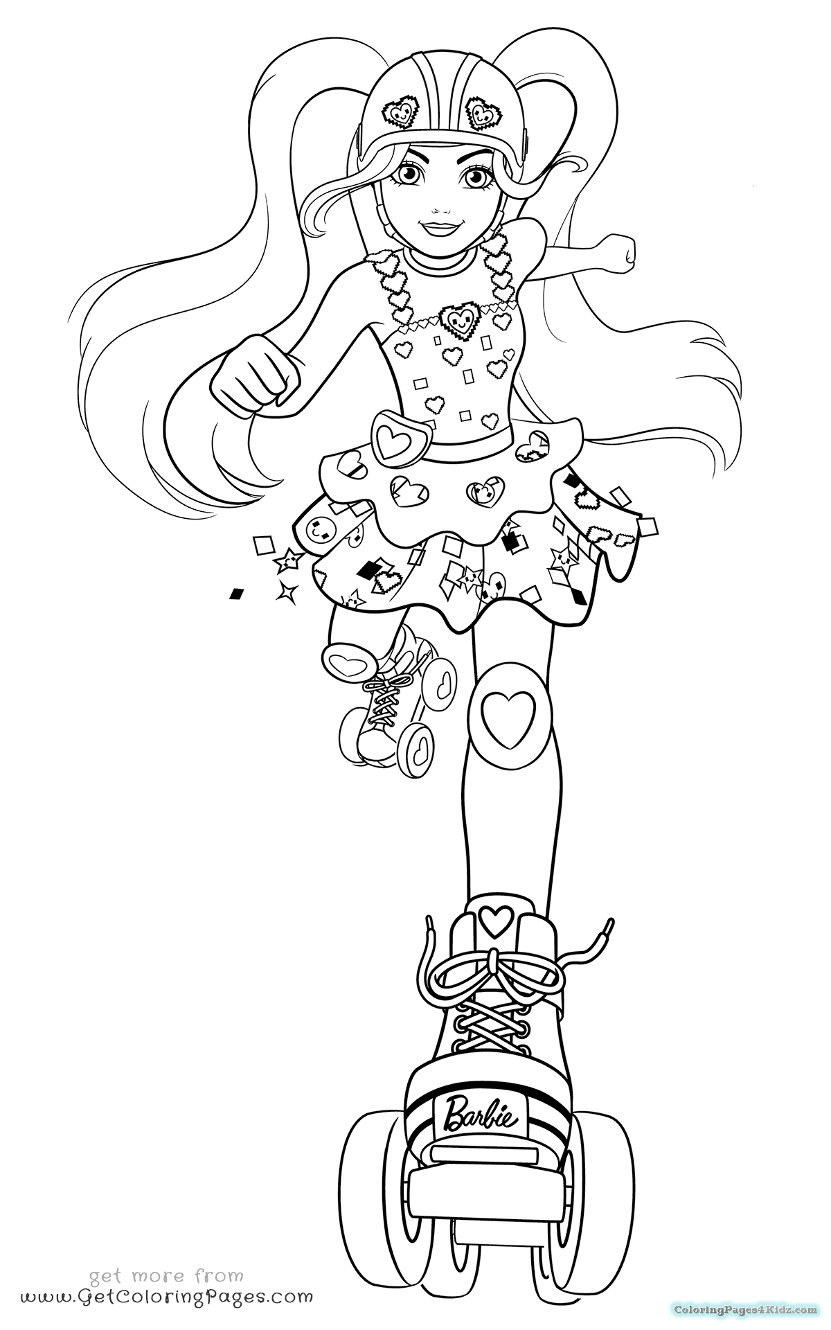 Undefined Barbie Coloring Pages Barbie Coloring Christmas Coloring Pages