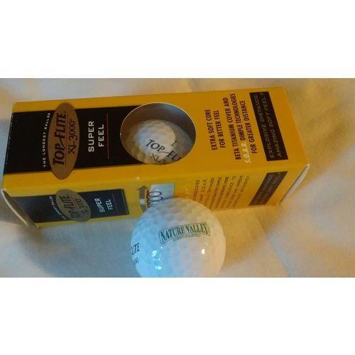 253a1dc95f Spalding Top Flite XL3000 Sleeve Nature Valley Granola Bars Logo Golf Balls