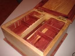 Image result for cedar jewelry box plans Wooden projects