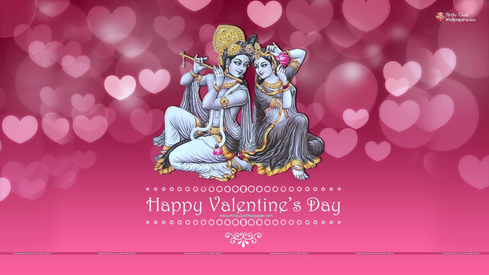 Valentine Day Wallpaper Hd Valentines Day Radhe Krishna G In 2019