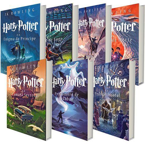 Kit Livros- Coleção Harry Potter ( 7 volumes)