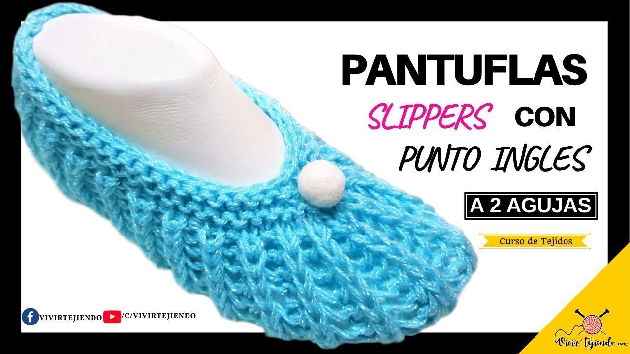 Diseño Exclusivo De Zapatos A Dos Agujas Pantuflas Slippers Con Punt Pantuflas Zapatos Tejidos Para Damas Pantuflas De Ganchillo