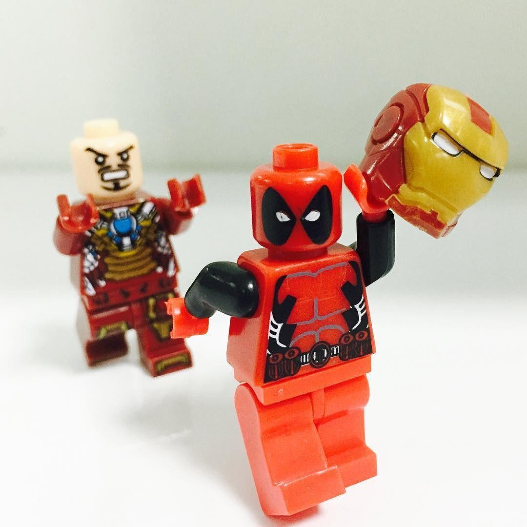 Лего картинки дэдпул