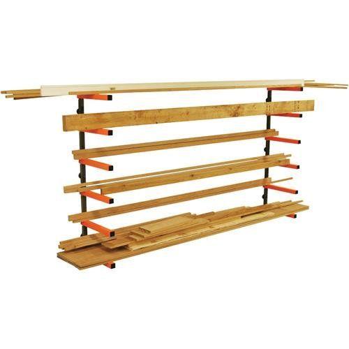 Lumber Storage Rack Portamate Pbr 001 Six Level Wall Mount Wood