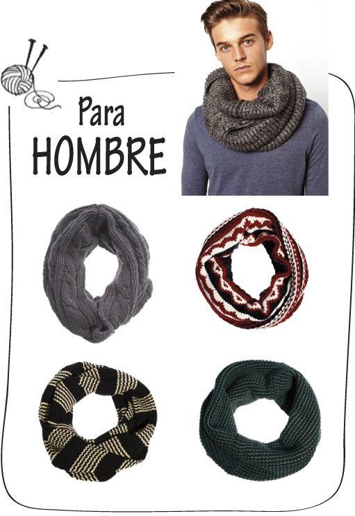 Cuello para hombre | tejidos con dos agujas | Pinterest | Crochet ...
