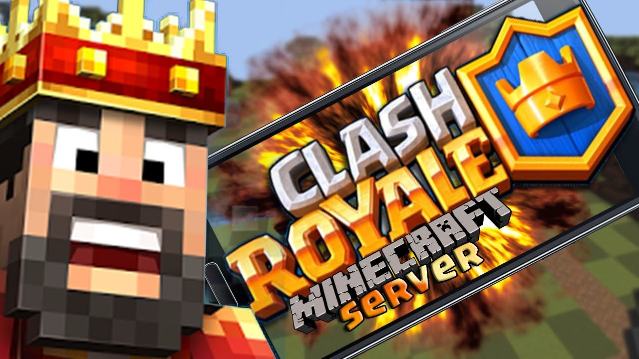 Clash Royale Ita In Minecraft Arena 1 Chest Opening W