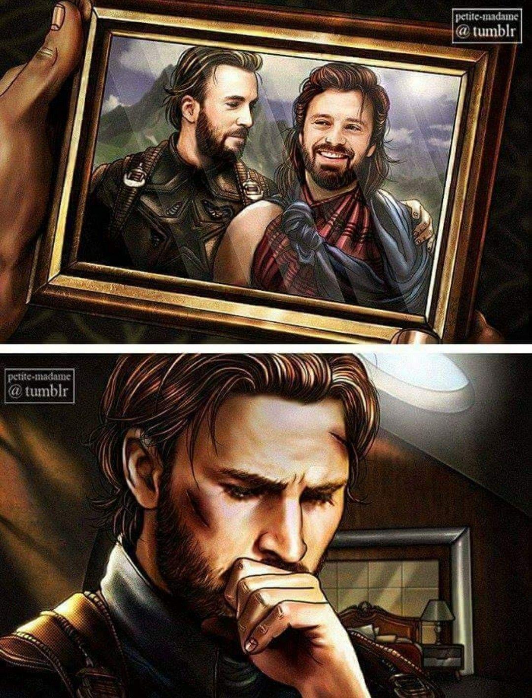 Aftermath of Avengers Infinity War: Steve losing his best friend