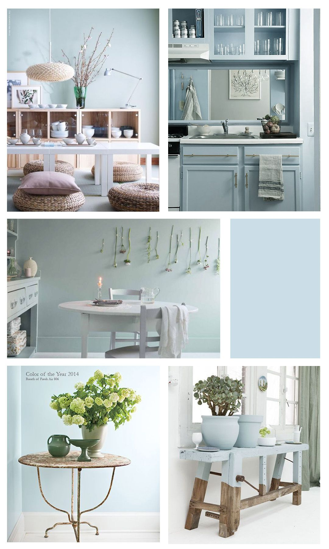 Colour Of The Month Breath of Fresh Air Home decor