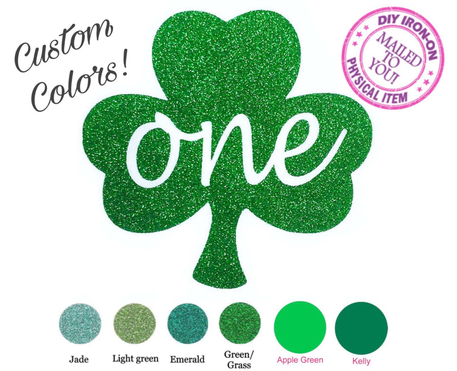 A personal favorite from my Etsy shop https://www.etsy.com/listing/493250938/diy-st-patricks-one-iron-on-vinyl