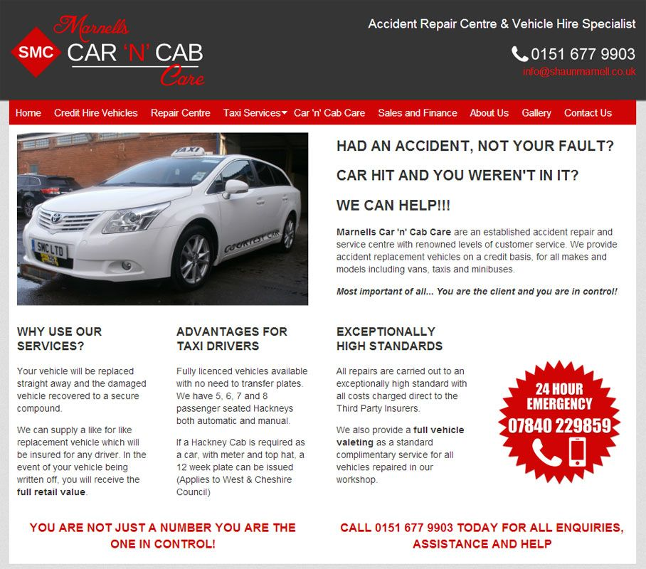 Marnells Car & Cab Care has been created with a