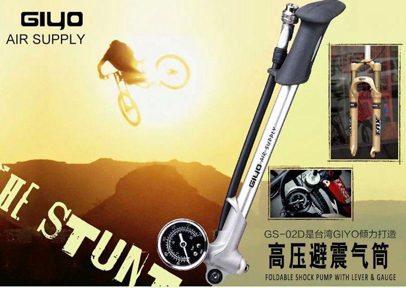 Portable High Pressure Pump Bicycle Mountain Bike Inflator With Tire Repair Tool Dengan Gambar