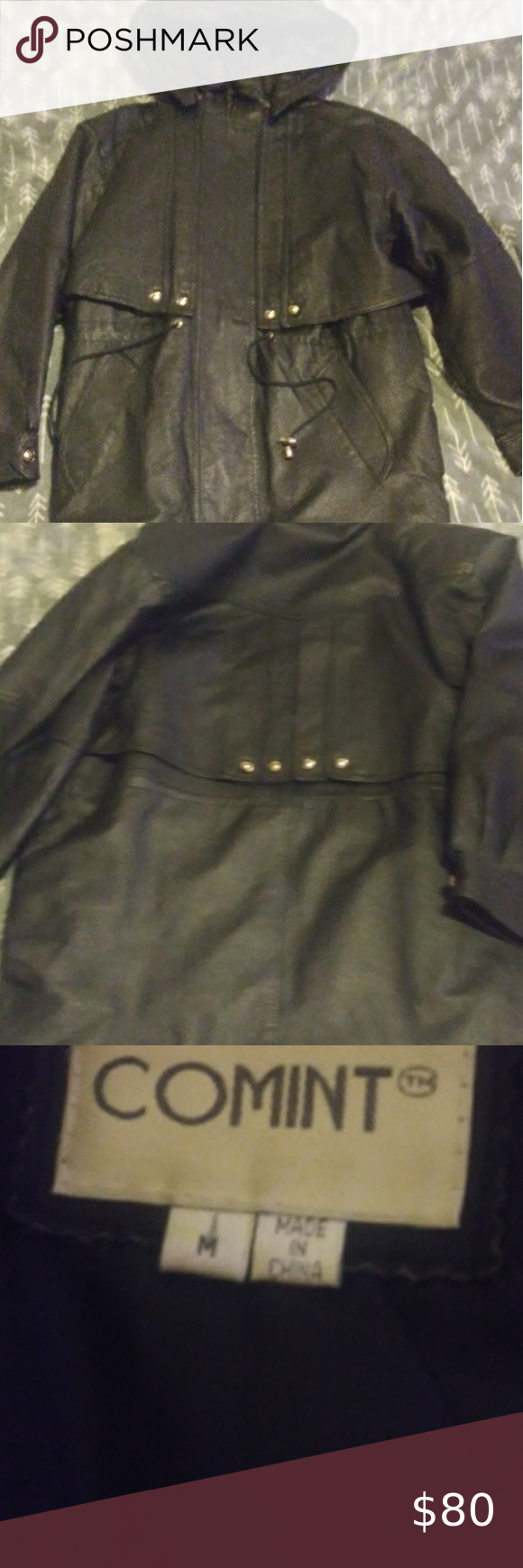 Women S Leather Coat W Hood Leather Coat Womens Leather Coat Leather Women [ 1740 x 580 Pixel ]