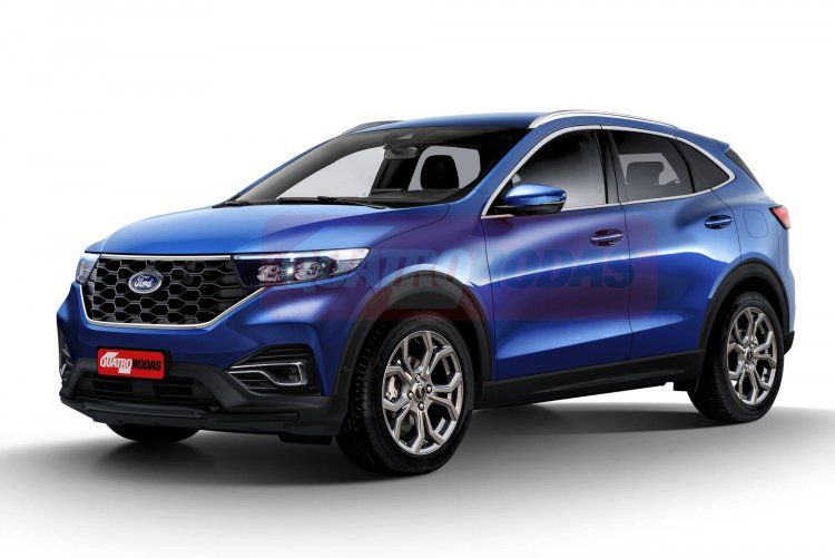 Next Gen Ford Ecosport To Be Ford Mustang Mach E Inspired Low Slung Cuv Report In 2020 Ford Ecosport Ford New Suv
