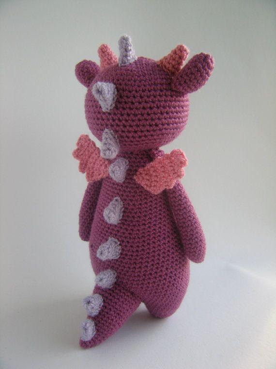 Dragon Crochet Amigurumi Pattern | Pinterest | Animales y Estilo