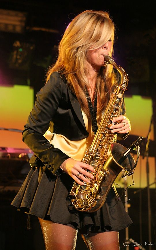 Saxophonist Candy Dulfer In 2019 Jazz Artists Jazz Funk