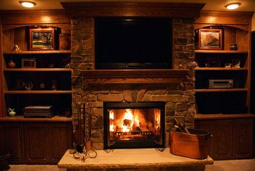 fireplaces using buechel stone traditional living room