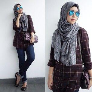 trendy hijab