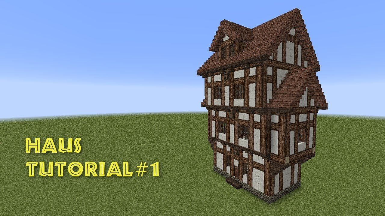 Minecraft Tutorial Tudor Style House House Build A Half Timbered House In 2020 Minecraft Architecture Minecraft Tutorial Minecraft House Tutorials
