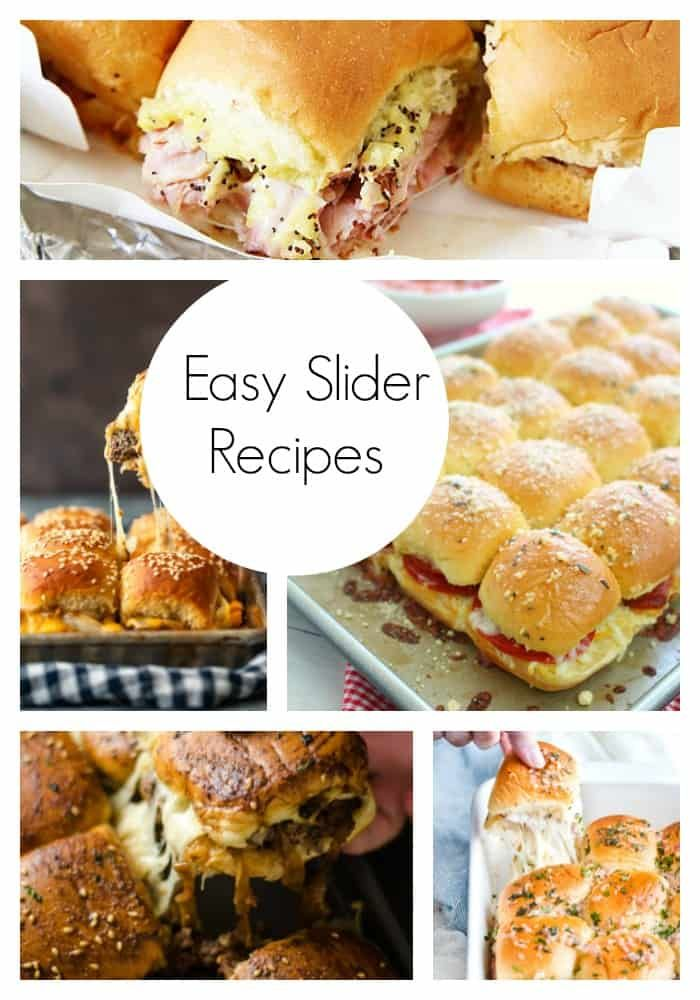 Easy Slider Recipes images