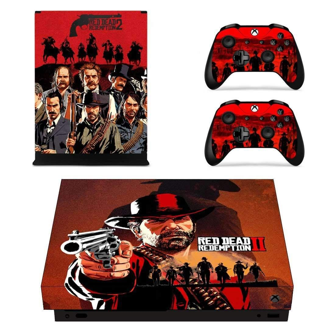 Red Dead Redemption 2 Xbox One X Skin For Xbox One X Console And Controllers Xbox One Xbox Red Dead Redemption