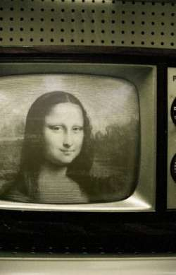 Mona na televisão!