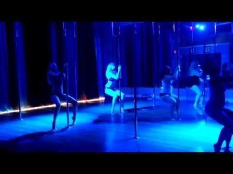 Chandelier - Sia Beginner Pole Dance Routine 6-2-14 ...