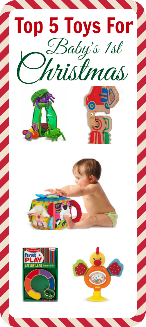Top Toy Picks For Baby's First Christmas | Baby girl toys ...