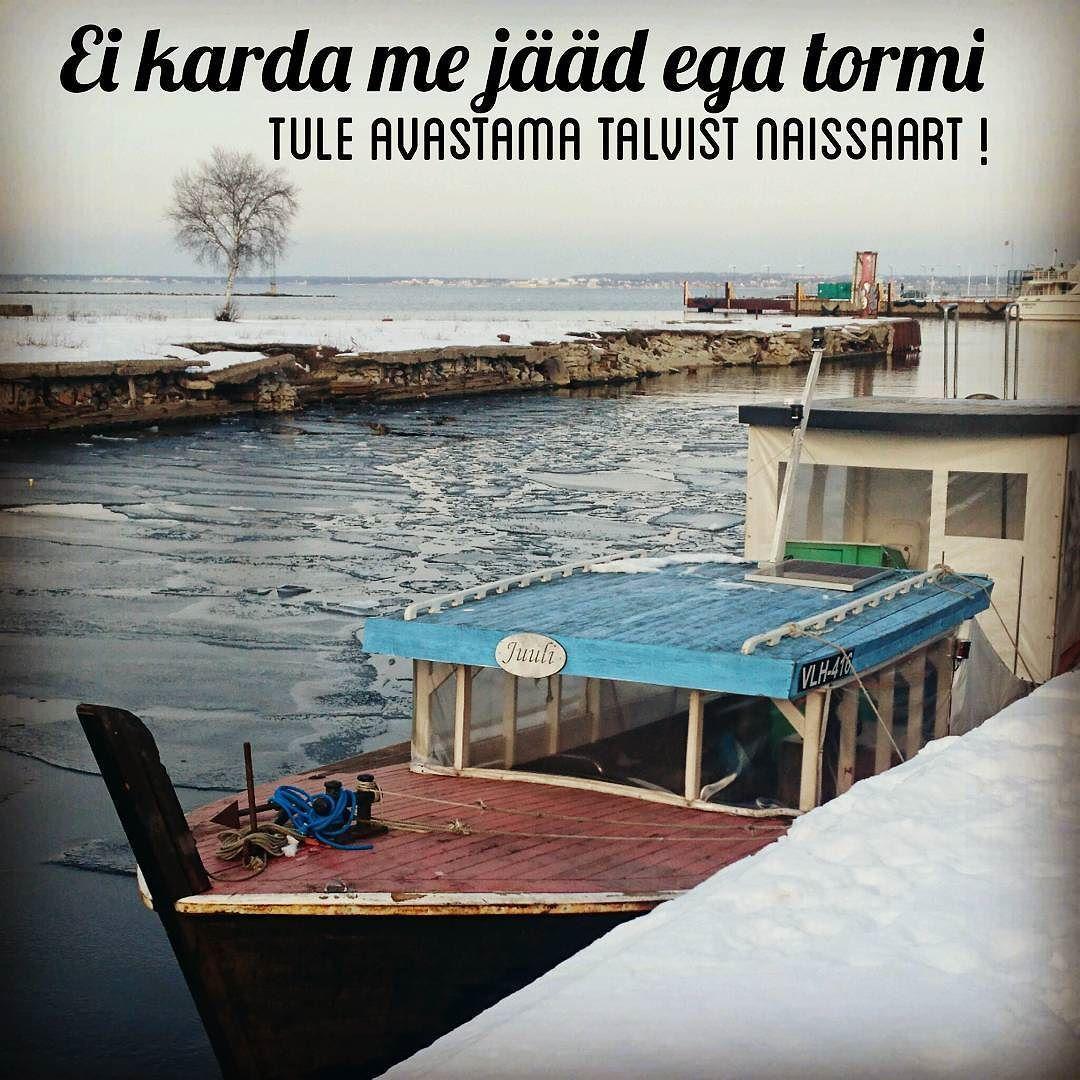 Naissaare reisid toimuvad ka talvel  Helista ja lepi aeg kokku !  #visittallinn #visittallinna #bestofbaltic by karzummik