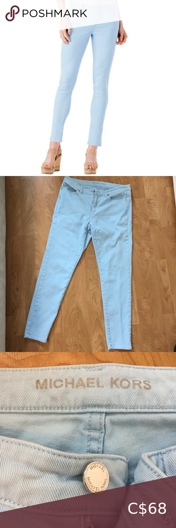 Michael Kors Light Skinny Pants