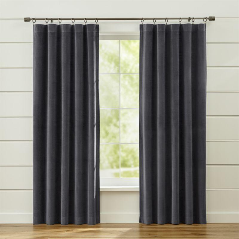 Windsor Dark Grey Curtains Crate And Barrel Grey Curtains Green Curtains Green Curtains Living Room