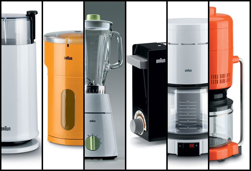 A history of braun design part 4 kitchen for 0 kitchen appliances