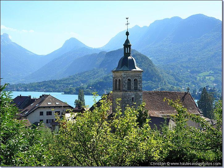 Le Village De Talloires Et Le Lac D U0026 39 Annecy