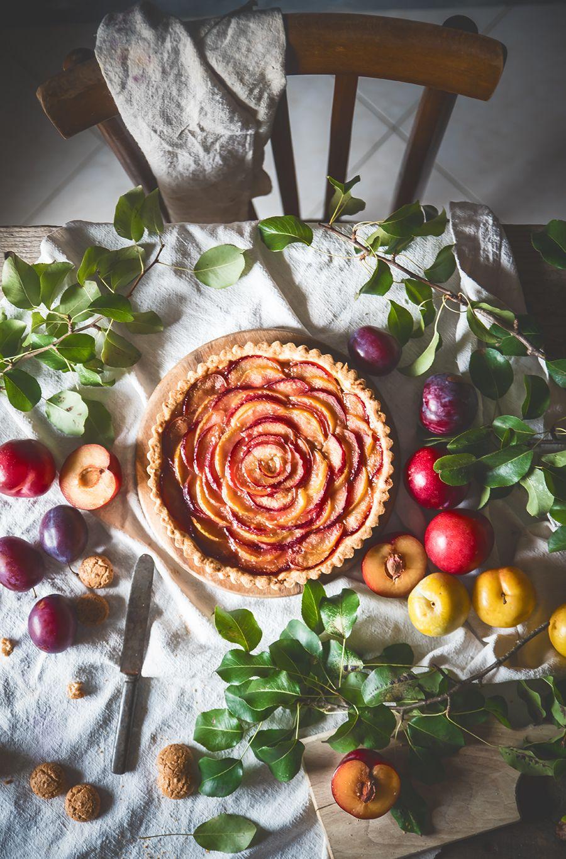Crostata Con Prugne E Amaretti Un Dolce Delizioso E Semplice Da