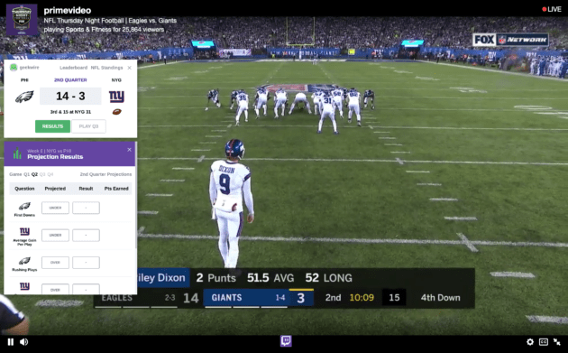 Review Amazons Twitch Nfl Live Stream Shows Potential Future Of Live Sports Online Newsbeatl Football Streaming Thursday Night Football Tv Schedule