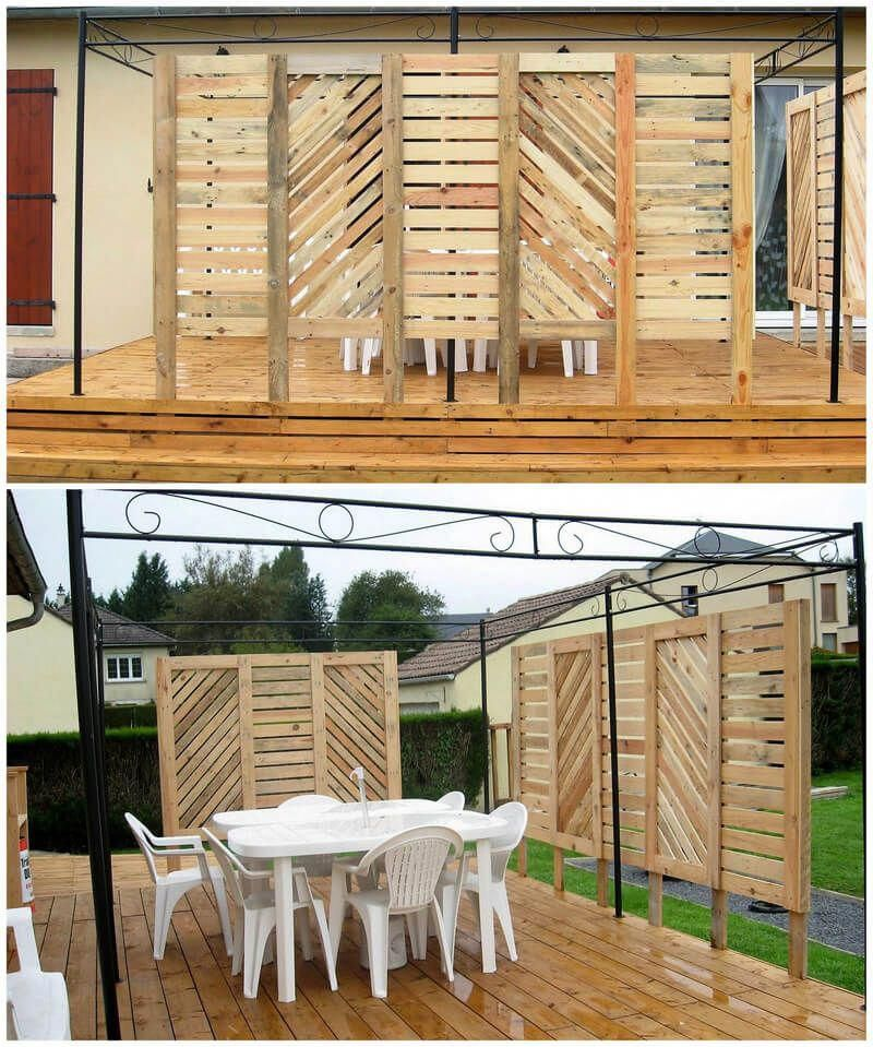 Find out about Pallet DIY #pallets #palletshelf #recyceltepaletten