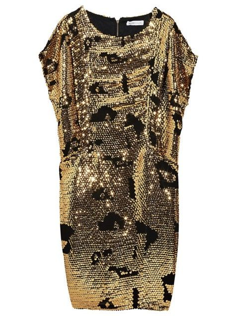 See by Chloe Sequined Chiffon Dress is the perfect look-at-me-mini that will look stunning on all shapes and sizes