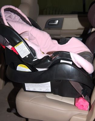 A Cut Swimming Pool Noodle Under The Car Seat Base Is Good Way To Get