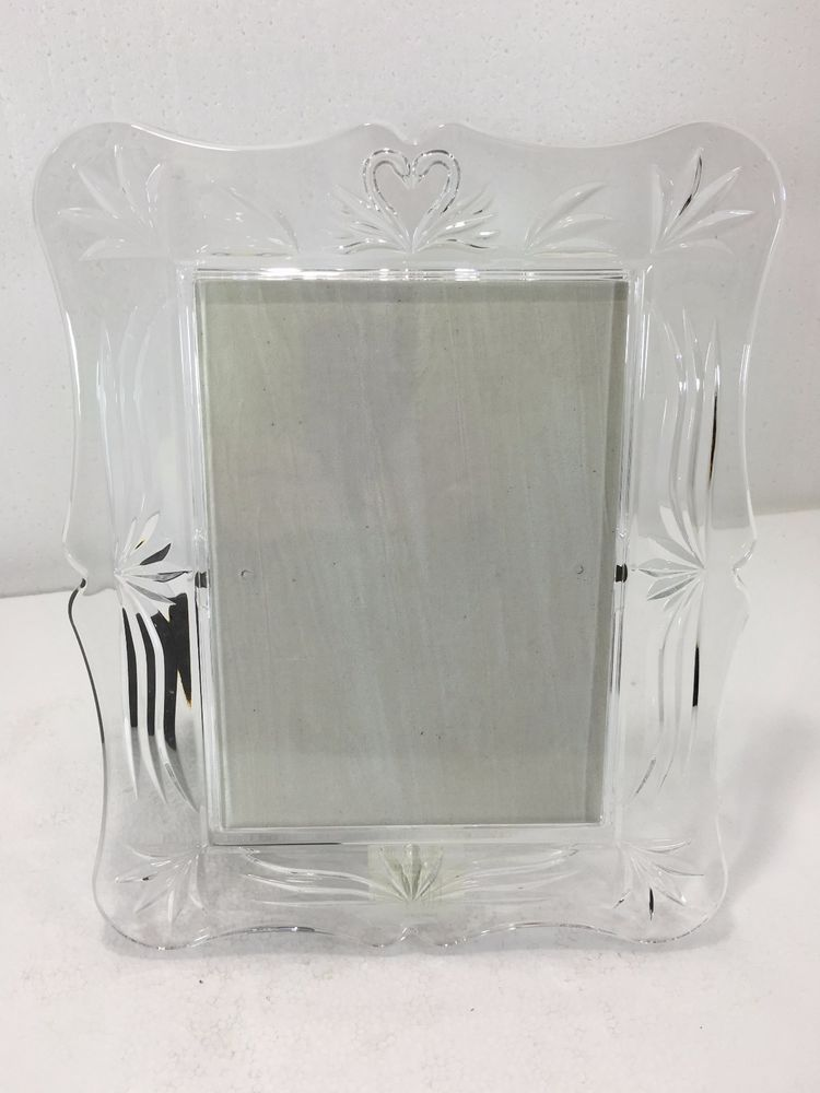 Waterford Clear Crystal Picture Frame 5 x 7\