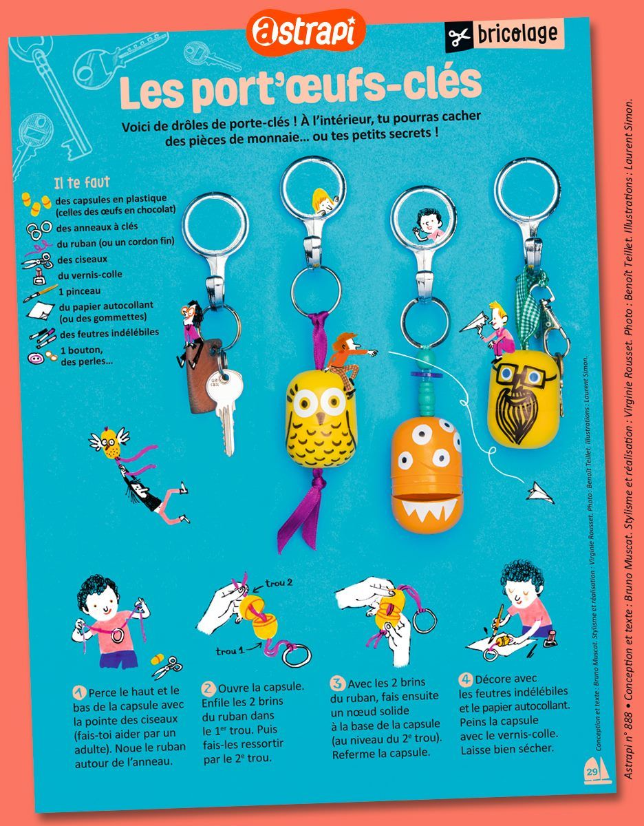 Astrapi Diy Pour Enfants Activite Enfant