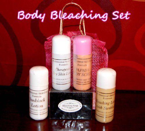 Body Bleaching Set Professional Skin Care Formula By Professional Skin Care Formula 29 99 Body Bleaching S Lotion For Dry Skin Body Bleaching Skin Bleaching