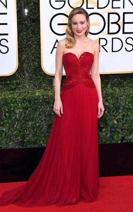 Brie Larson in Rodarte attends the 74th Annual Golden Globe Awards. #bestdressed