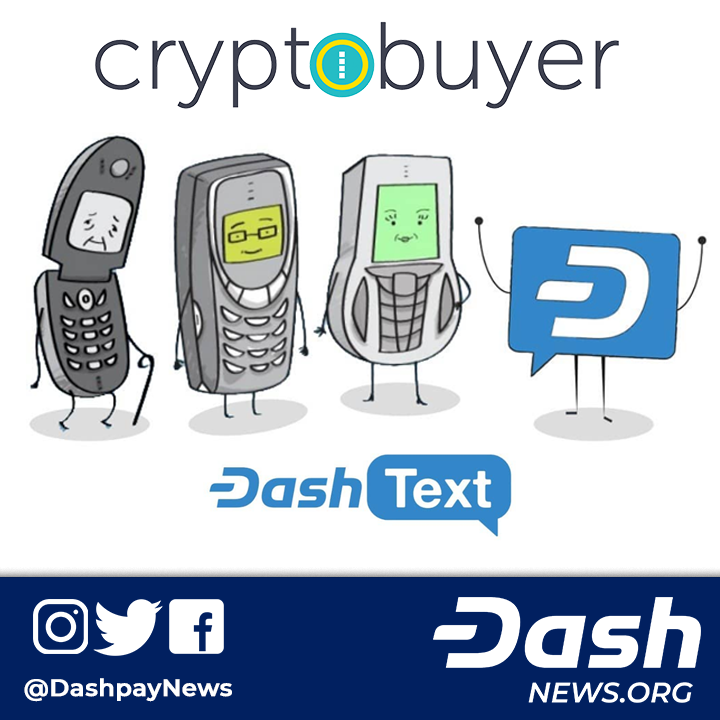 Cryptobuyer Partners with Dash Text for SMS Cryptocurrency Purchases Cryptobuyer a popular Latin Americafocused exchange and merchant pointofsale system has now partnered...