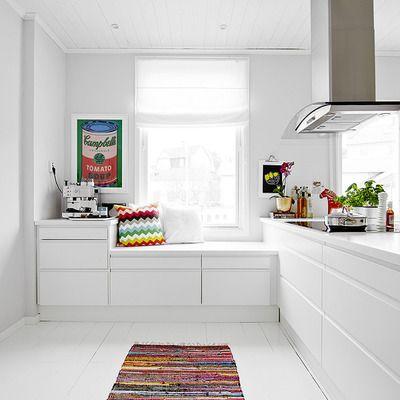 Ventajas y características de los muebles de cocina blancos ...