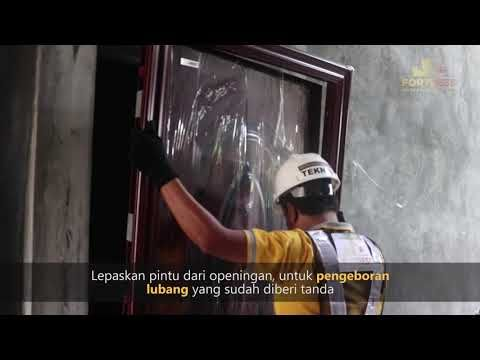 How to Install a Wooden Fortress Steel Door