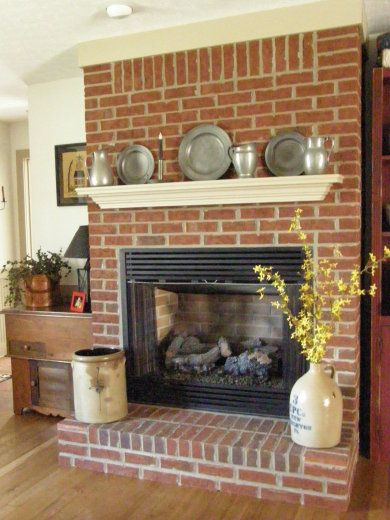 A primitive place primitive colonial inspired fireplace displays a primitive place primitive colonial inspired fireplace displays teraionfo