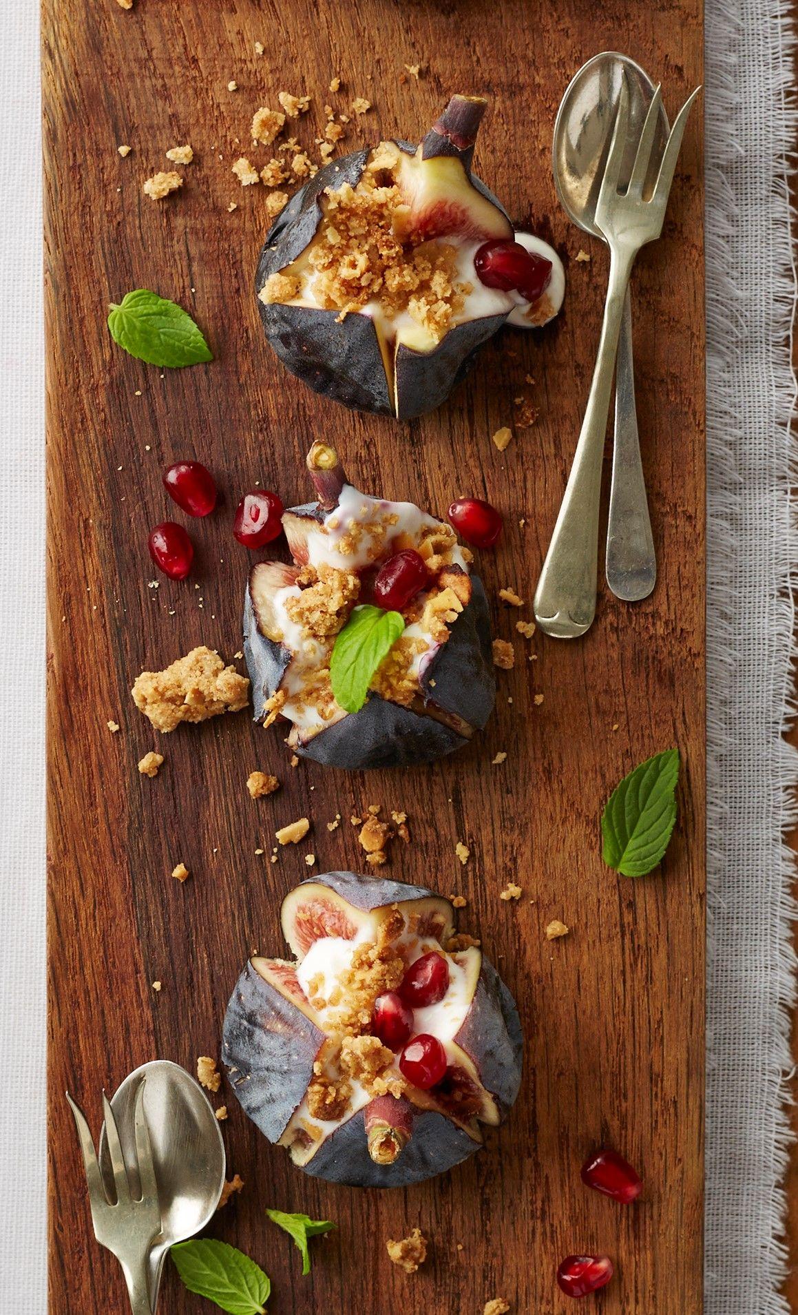 Granolakrummel met vye granola food pictures crumble