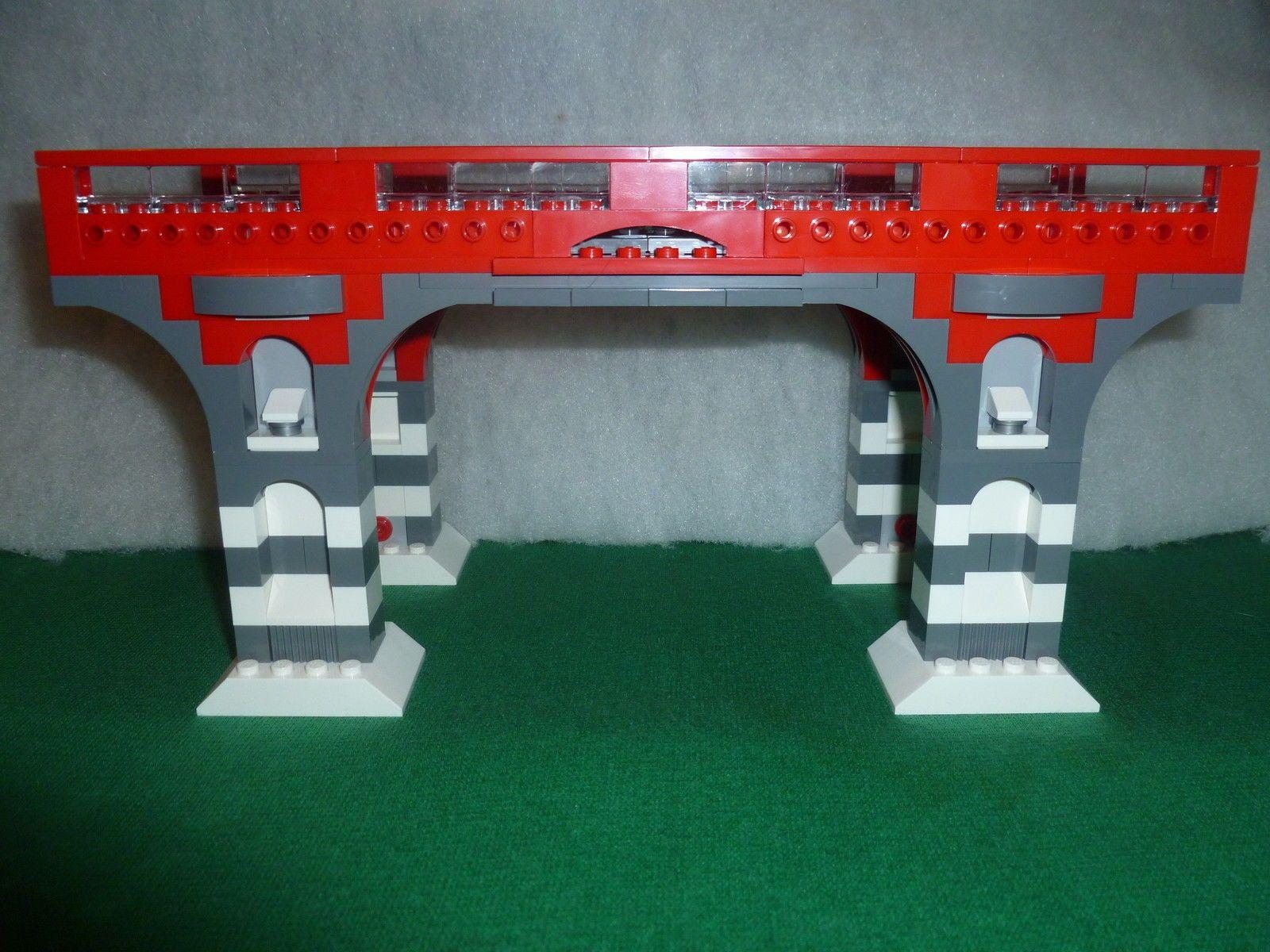 lego train treno eisenbahn zug city ponte bridge rc rails. Black Bedroom Furniture Sets. Home Design Ideas
