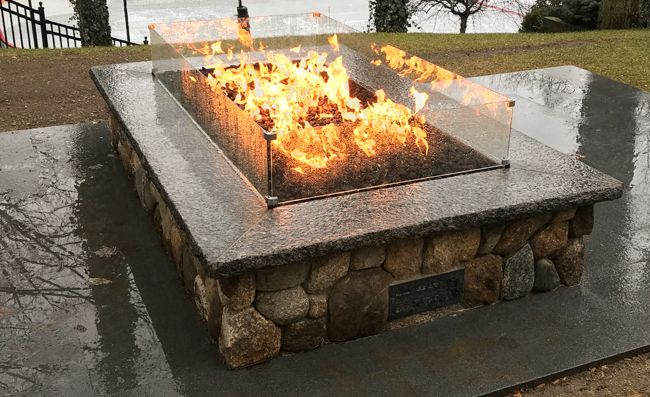 How to Build a Gas Fire Pit | Woodlanddirect.com | Outdoor ...